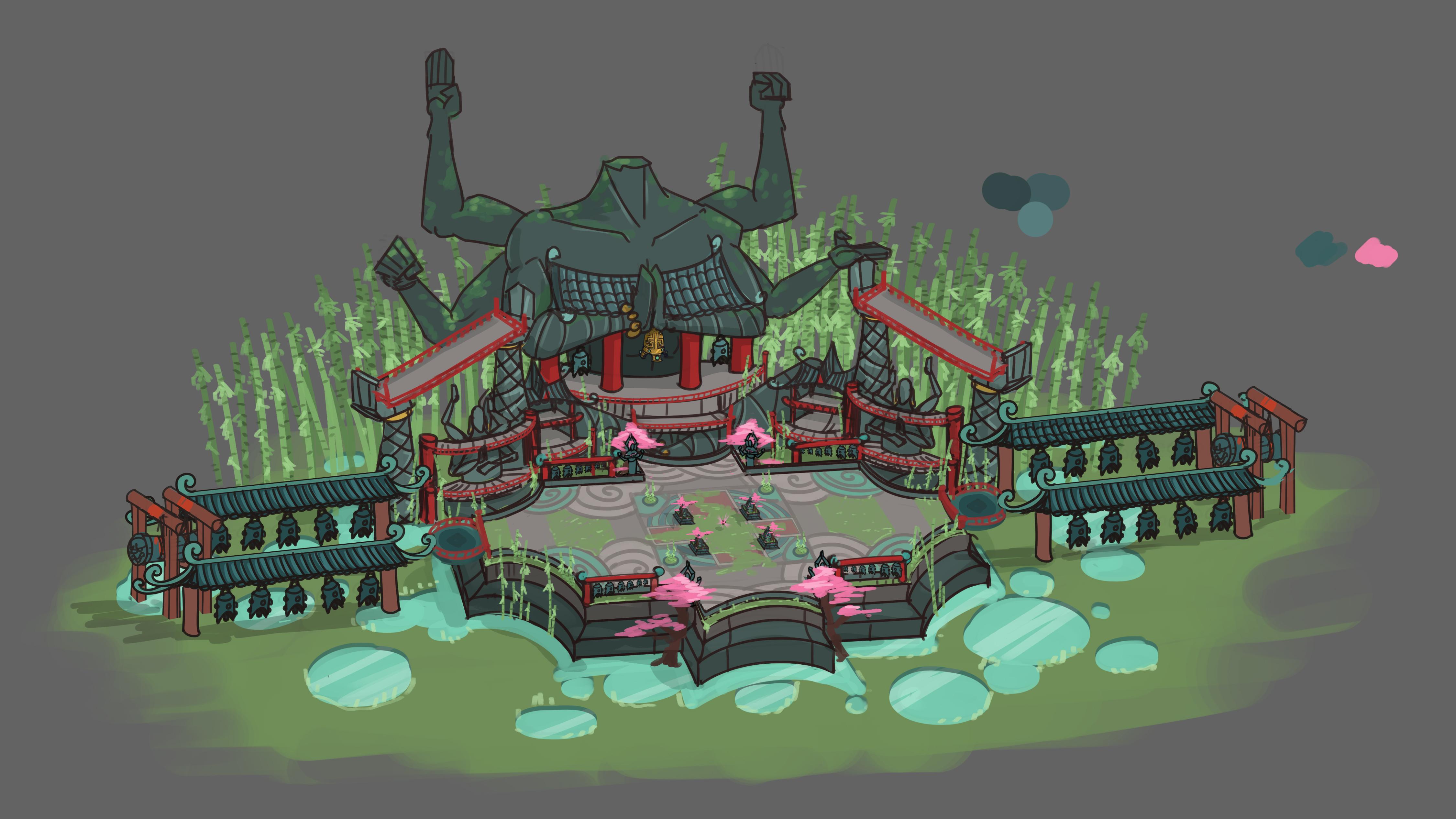 Dev Blog 13 Dragon Garden Battlerite