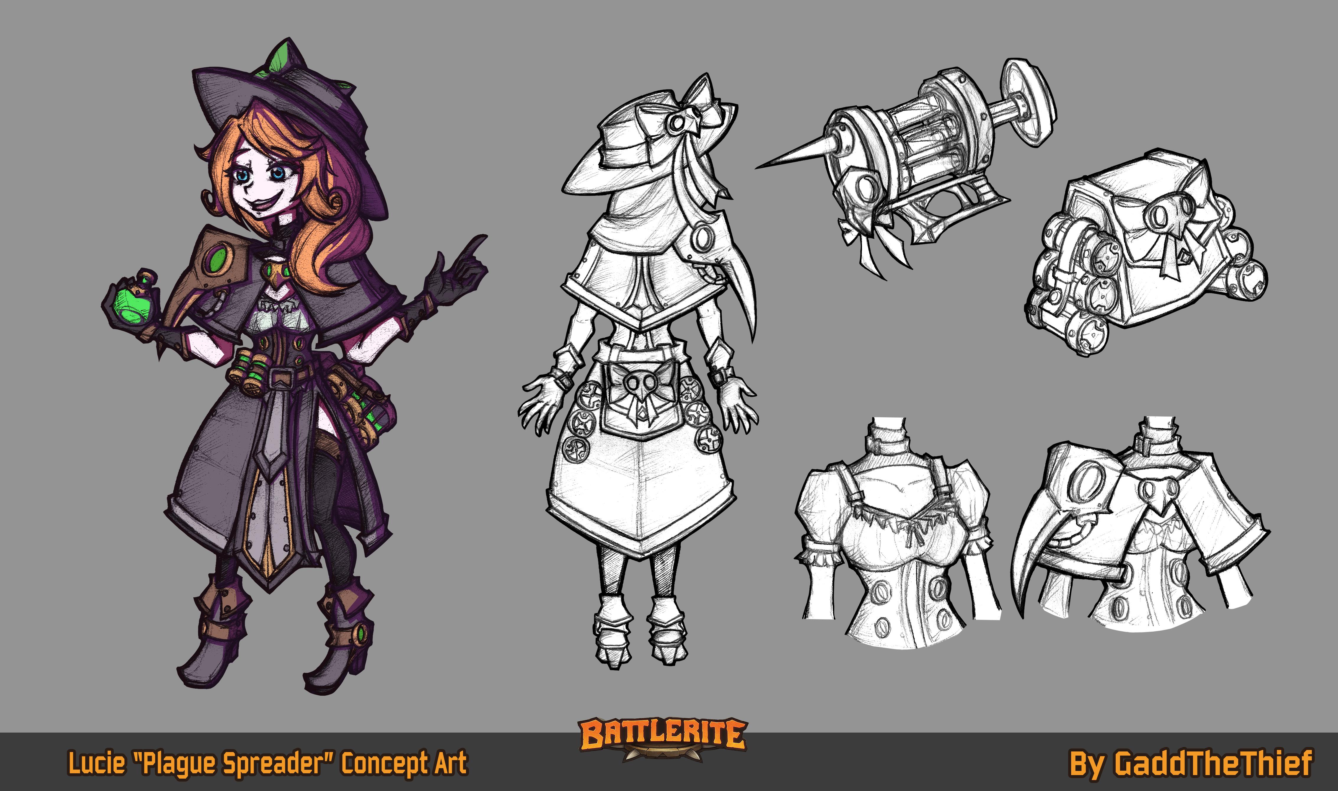 Battlerite Concept Art Contest